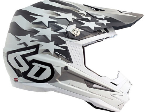 6D ATR 1 Patriot Dirt Bike Helmet