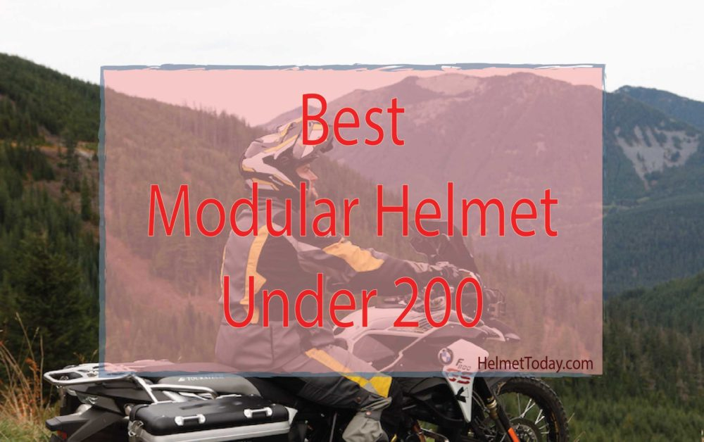 best modular helmet under 200