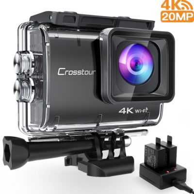 Crosstour Action Camera Underwater