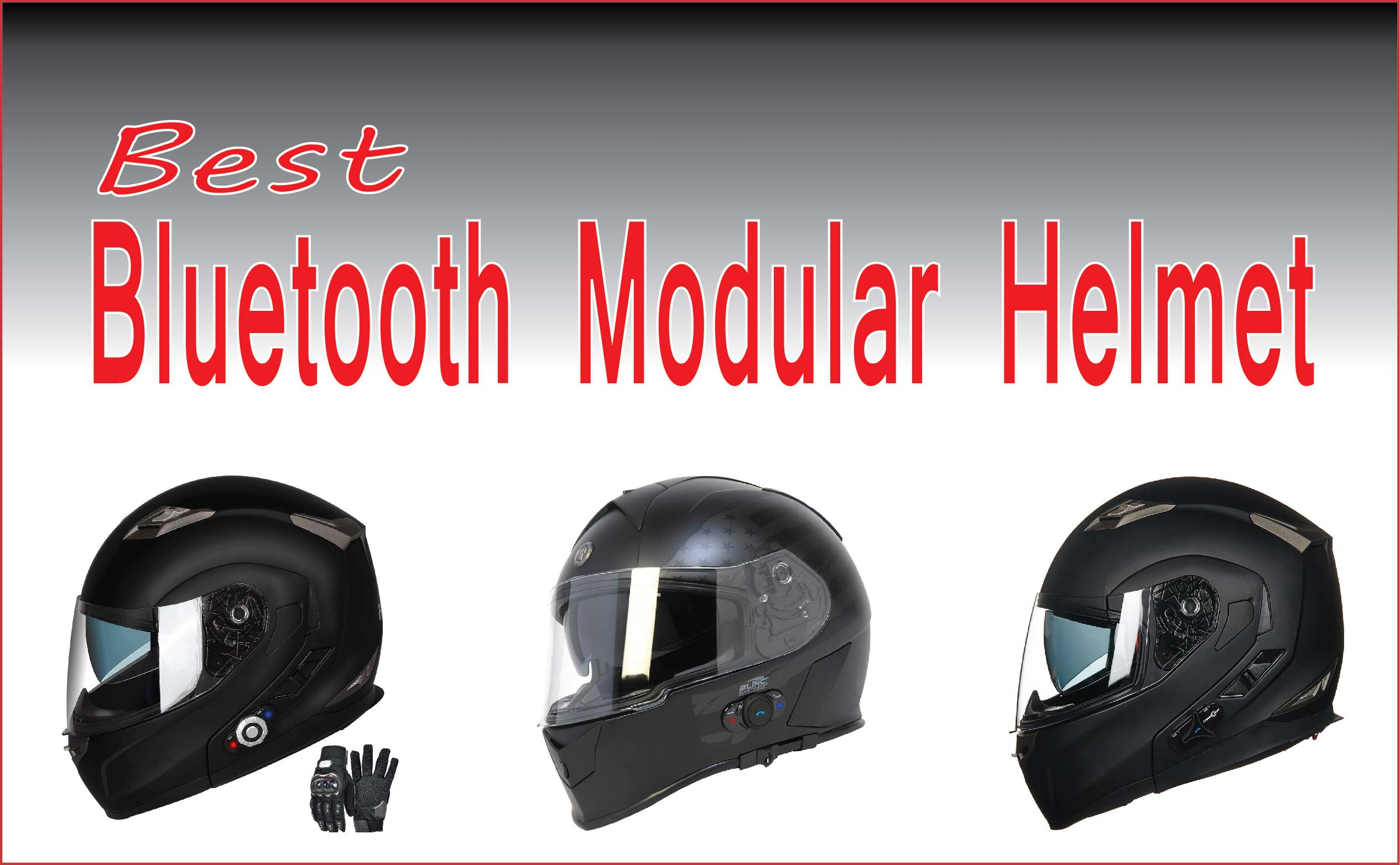 Best Bluetooth Modular Helmet
