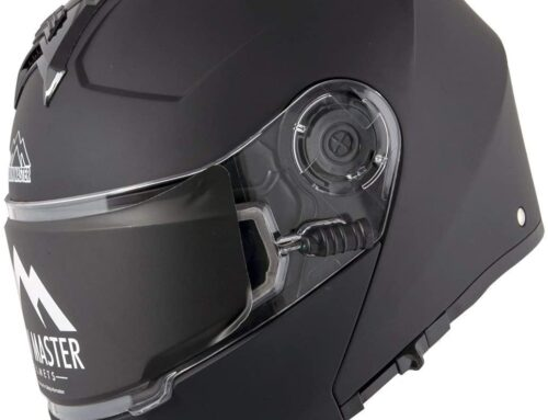 Snow Master TX-50 Flat Modular Dual Use Snowmobile and Street Helmet