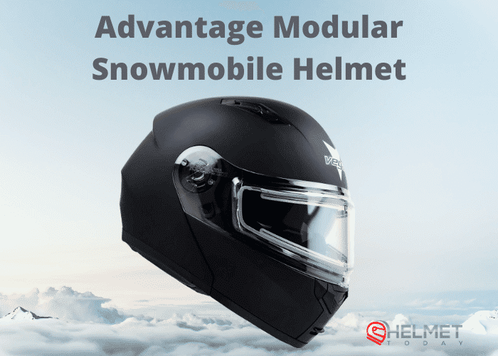 Advantage Modular Snowmobile Helmet Review