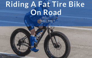 Riding a Fat Tire Bike on the Road
