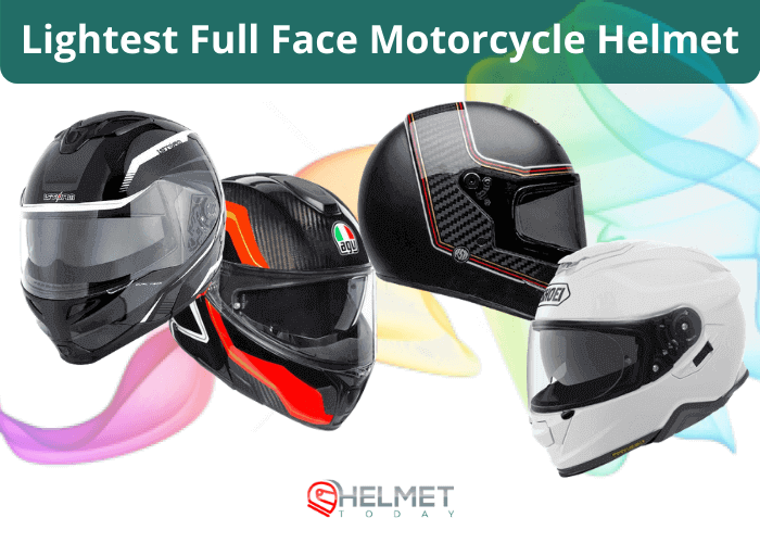 Lightest Full Face Motorcycle Helmet 2021