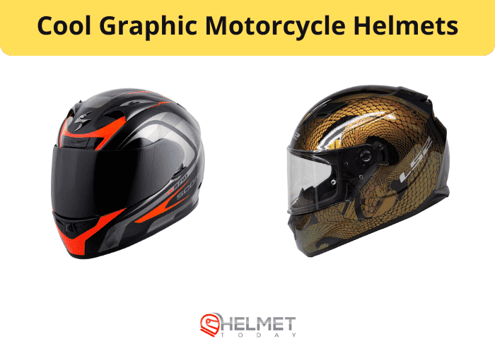 The Top Cool Graphic Scooter Helmets